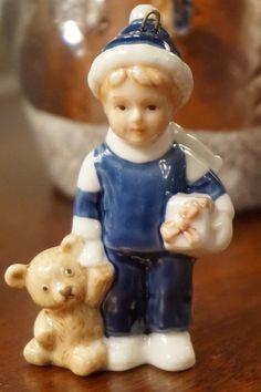 Copenhagen Boy with Teddy