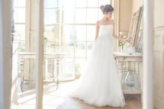 Tara Keely #2711. Find this dress at Janene's Bridal Boutique located in Alameda, Ca. Contact us at (510)217-8076 or email us info@janenesbridal.com for more information.