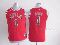 http://www.xjersey.com/bulls-1-rose-red-youth-jersey.html BULLS 1 ROSE RED YOUTH JERSEY Only $34.00 , Free Shipping!