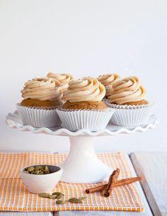Recipe: Chai Sweet Potato Cupcakes — Dessert Recipes from The Kitchn