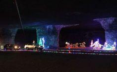 Kentucky: Lights Under Louisville, MEGA Cavern    The Best Christmas Lights  In Every
