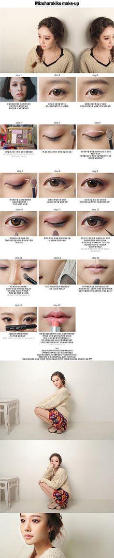 Mizuharakiko makeup #makeup #pictorial