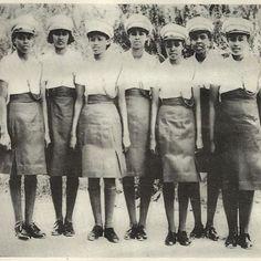 Somali women police officers