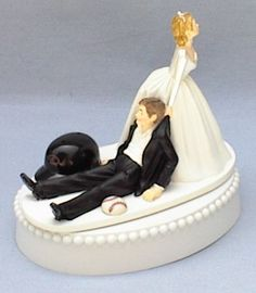 Wedding Cake Topper - Arizona Diamondbacks D-Backs Funny Baseball Themed