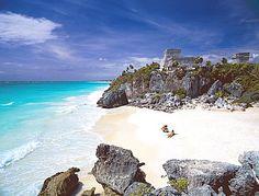 Winter sun on the Yucatán Peninsula