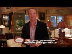 Scot Haney says you must shop here at Middlebury Consignment! Check out this amazing place! You'll find furniture of all kinds, beautiful art and home accessories plus so much more!     http://www.middleburyconsignment.com