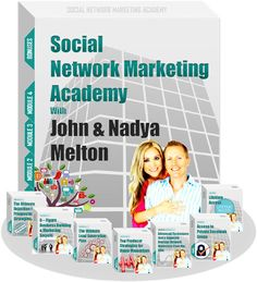 Social Network Marketing Academy is A 5-module Online Course For New And Experienced Network Marketers Who Want To Build Their Business Leveraging Facebook. If You Are Serious About Creating A Professional Level Of Income & Mastering Facebook Lead Generation, This Course Is For You. This Online Program is for New and Experienced Network Marketers. Always remember.....More Leads... More Sign-ups. More Customers. More Sales.