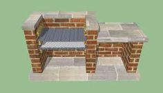 This diy step by step article is about how to build a barbeque pit. Building a brick bbq pit is easy if you use the right designs, plans, ideas and techniques. Pit Bbq, Barbecue Grill, Barbeque Design, Backyard Bbq Pit, Diy Grill, Grill Design, Parrilla Exterior, Brick Grill, Brick Built Bbq