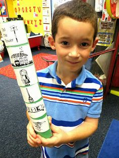 "First Grade Wow: Retelling With a ""Tell Me Tower"""