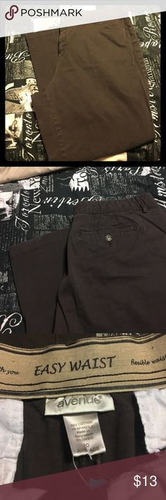Black pant Charcoal black 20 Average easy waist pant, gently used condition Avenue Pants