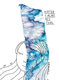 Water calms my soul // Saskia Keultjes