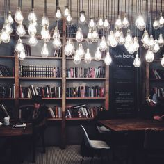 Even though there are a lot of lights, I think they add character and I would consider using them in my final interior design.