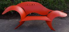 Recycled Propane Bench by colin seligs