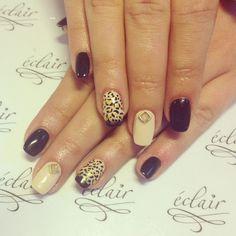 leopard print nail polish 2017