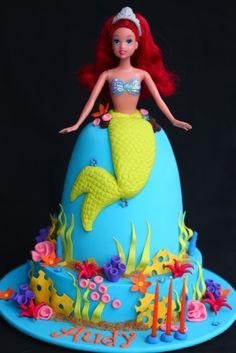 Sugar Creation: Little Mermaid Cake