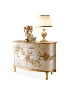 Italian luxury Night composition furniture by Andrea Fanfani. Italian Bedroom Furniture, Luxury Italian Furniture, Classic Furniture, Classic Interior, Luxurious Bedrooms, Classic Italian, Decoration, Furniture Design, Consoles