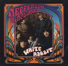 ☮ American Hippie Music Cover Psychedelic Art ~ Jefferson Airplane
