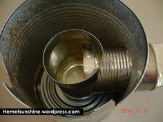 Inside A Tin Can Rocket Stove – Hemet Sunshine