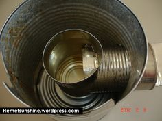 1000 images about things to inspire product designs on for Tin can solar heater