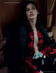 Amanda Murphy by Willy Vanderperre for i-D Magazine Fall 2013 | The Fashionography