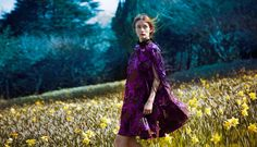 Audrey Marnay by Erik Madigan Heck for Bazaar UK, October 2015