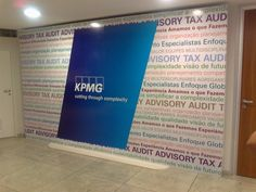 Painel Hall do predio KPMG em SP