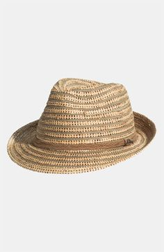 Tommy Bahama Raffia Fedora available at #Nordstrom