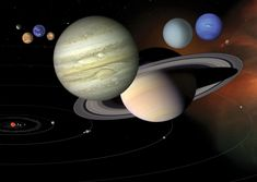 Our solar system is a vast place, with lots of mostly empty space between planets. But out there are comets, asteroids and more rocky, frozen objects (including dwarf planets) yet to be discovered in the Kuiper Belt and Oort Cloud.  CREDIT: NASA