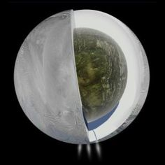 Gravity measurements confirm subsurface ocean on Saturn's moon Enceladus. Ties to lessons on isostasy in Earth Science as well as planetary science