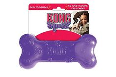 Kong Squeezz Bone Large => Startling review available here  : Kong dog toys
