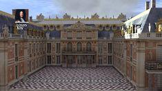 RECONSTITUTION EN 3D : CONSTRUCTION DU CHÂTEAU DE VERSAILLES JUSQU'À LA RÉVOLUTION FRANÇAISE.....VIDÉO DE YOUTUBE........