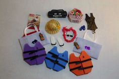 Dollhouse-Miniature-Lot-Babys-Big-Day-at-the-Beach-1-12-Scale