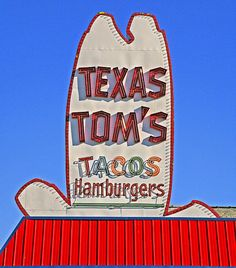 """""""Texas Tom's...there's one near you!"""". One of the original Fast Foods outlets in Kansas City."""