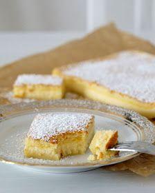 Magic Custard Cake - Magischer Puddingkuchen mit Vanille