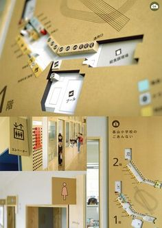 作品画像 Retail Signage, Wayfinding Signage, Signage Design, Logo Design, School Signage, Guide System, Sign System, Visual Communication, Invitation Design