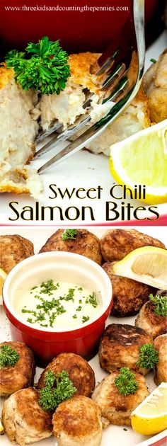 A delicious Crunchy Sweet Chili Salmon Bites recipe.