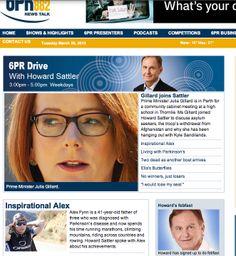 Perth, Australia - 6PR News 2013