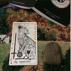 """Real life tarot images from Diane (craftedcb)instagram """"The Magician"""""""