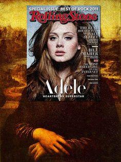 Eisen Bernard Bernardo Mag + Art superposition de couvertures de magazines dans des classiques de la peinture 5   des couvertures de magazin...