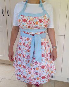 fabric design by BORA -- Kawaii kitchen -- Deborah van de Leijgraaf -- https://www.spoonflower.com/fabric/348100-tea-time-by-bora