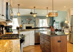 Bridgewood Custom Cabinetry —Customize cabinets for your dream kitchen Ivory Kitchen Cabinets, Transitional Kitchen, Custom Cabinetry, Beautiful Kitchens, Granite Countertops, 3d Design, Counter Top, Heartland, Bedroom Inspiration