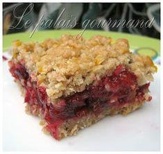 Dessert Bars, Dessert Recipes, Granola Bars, Cookie Bars, Biscuits, Food And Drink, Meat, Baking, Fruit