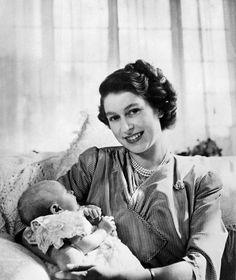 Queen Elizabeth II With Anne