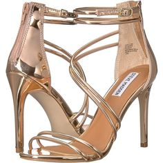 aa71132e7ca Steve Madden Fico (Rose Gold) High Heels (3.765 RUB) ❤ liked on