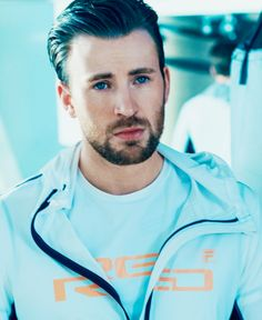 Chris Evans for FILA Sportswear Red Line Collection 2016