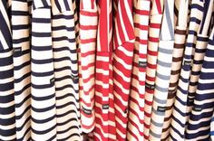 all the stripey T-shirts in the world!!!!