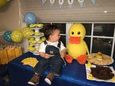 Piñata de Pato Ducky duck pinata 2 Year Old Birthday Party, Bb