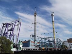 Grona Lund in Stockholm, photograph taken by me
