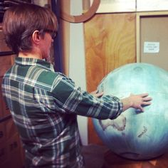 Bellerby and Co Globe : Globemaker : Handmade Bespoke Terrestrial World Globes. Photo : Jade Fenster