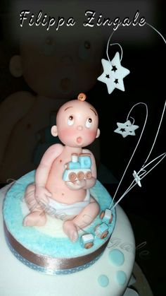 #sugarcake #cakedesigne #birthdaycake #topper #babycake #christeningcake